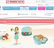 """La campagna SMA """"Lo sappiamo, perché siamo mamme anche noi"""" è ancora attiva, nonostante il passaggio dell'azienda da Pfizer a Nestlé (clicca per ingrandire)"""